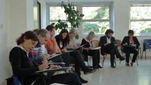 Professori impegnati in un seminario di formazione