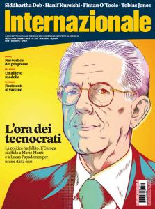 Mario Monti in copertina su Internazionale