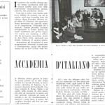 Mario Monti all'Accademia di Italiano presso il Leone XIII