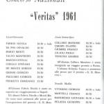 Monti premiato al concorso nazionale Veritas 1961