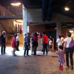 Il foyer del Teatro Franco Parenti