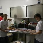 Preparativi in cucina