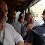 Alcuni membri della delegazione italiana