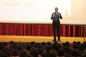 il dottor Sala parla agli Studenti dei Licei