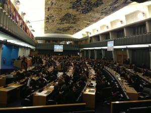 Lavori assembleari presso la sede della Fao a Roma