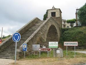Ponte romano (ricostruito) di Portomarin
