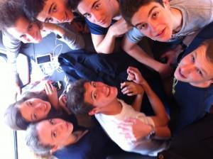 Il gruppo dei ragazzi del Leone