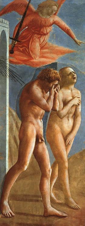 Masaccio, La cacciata dal paradiso terrestre