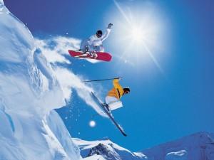 Snowboard e Sci