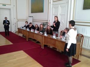 Sessione plenaria nel Palazzo del Comune di Miskolc
