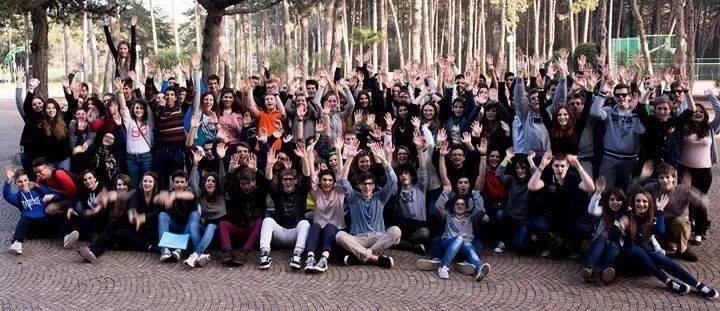 I partecipanti alla fase nazionale del PEG a Lignano Sabbiadoro (28/3 - 1/4/2014)