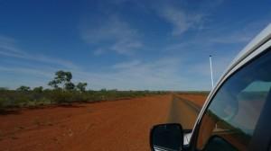 La strada: terra rossa, e basta, per centocinquanta chilometri