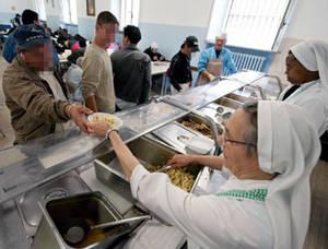 La mensa dei poveri delle Suore di madre Teresa
