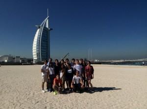 Il gruppo dei Leoniani a Dubai