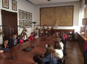 Briefing in Sala Albertini