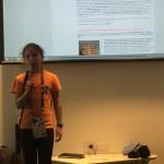 Giulia presenta i concorsi