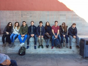 Claudia, Silvia, Riccardo, Federico, Filippo, Giulia, Jacopo, Greta, Guglielmo