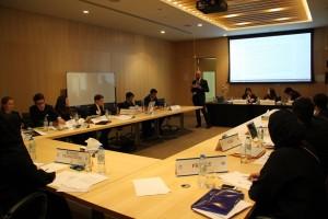 Giovani delegati al lavoro