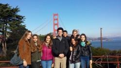 Sullo sfondo il Golden Gate Bridge