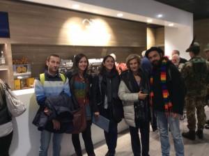 I proff.! Michele, Silvia, Alessandra, Elisabetta, Mariano
