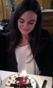 Claudia ha festeggiato il compleanno a Firenze