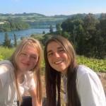 Chiara (a sin.) e Alessia