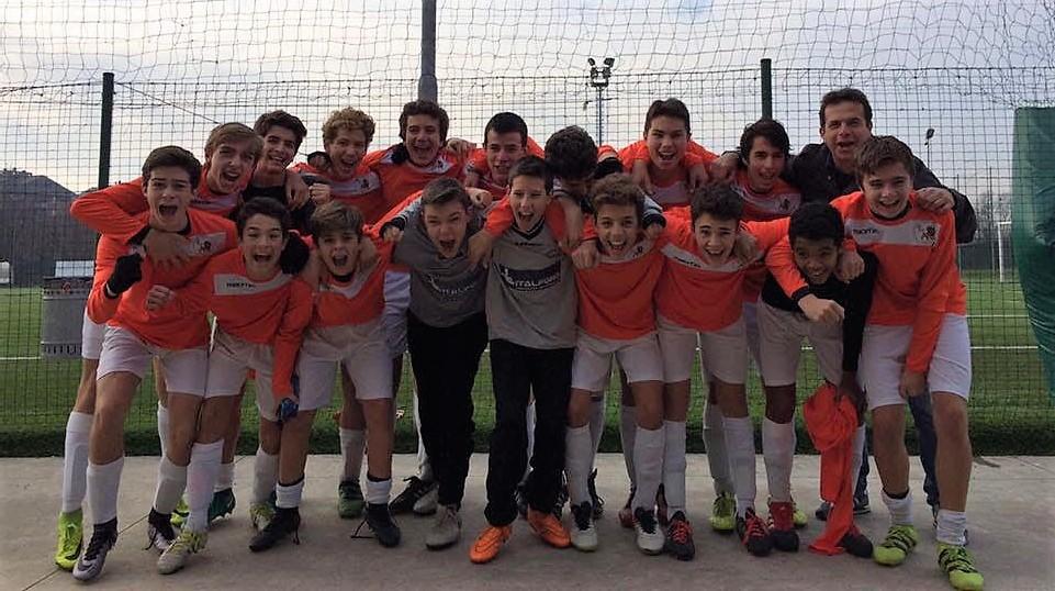 La squadra dei Giovanissimi del Leone XIII