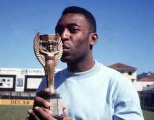 Pelé e la Coppa Rimet