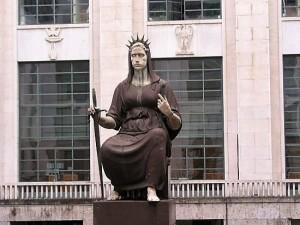 La statua della Giustizia