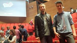 Thomas con il prof. Caprioli