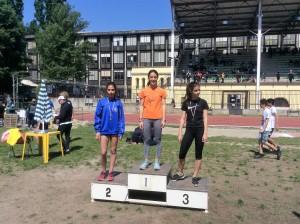 Emma Grossi, prima negli 80 metri