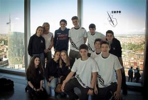 Delegazione del Liceo Sportivo