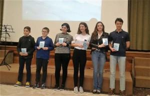 Un gruppo dei premiati