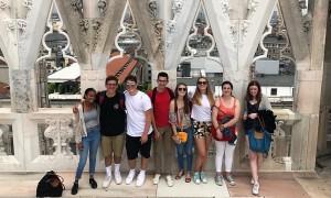 Sulle terrazze del Duomo