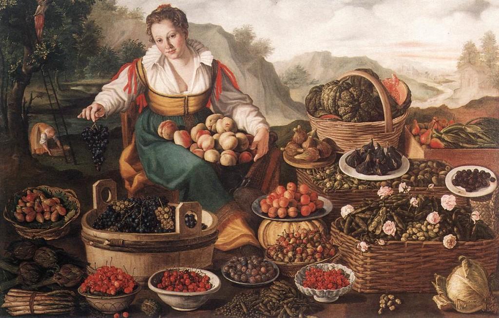 Vincenzo Campi, La fruttivendola