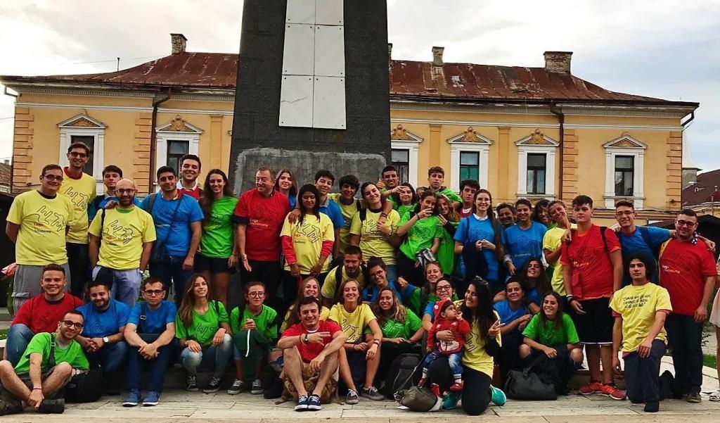 Gruppo di volontari Romania 2017