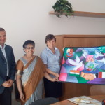 Meeting of the Board of Direction with Principal Grace Noronha and Principal Mathew Ninan