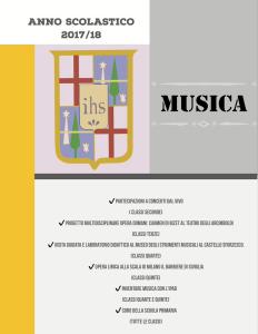 Musica alla Primaria 2017/18