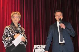 Il saluto del preside Sibillo alla prof. Bardi e ai partecipanti