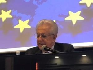 L'intervento del prof. Monti