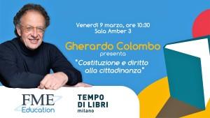 L'intervento di Gherardo Colombo