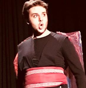 Alessandro Tagietti, migliore attore