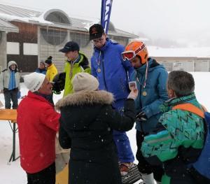 Tommaso Astolfi premiato ai regionali di sci